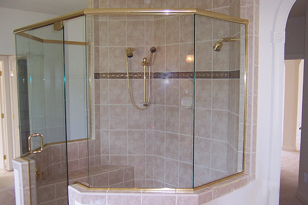 : frameless sliding glass shower doors