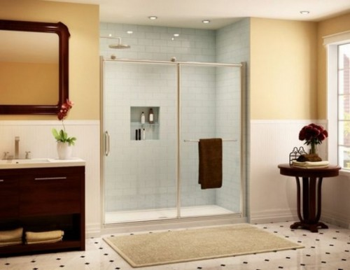: how to clean soap scum from shower doors