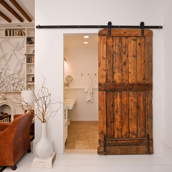 : sliding interior barn doors