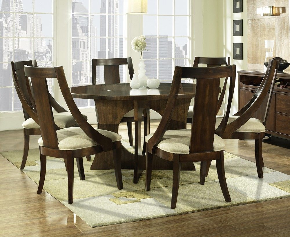 30 eyecatching round dining room tables design ideas for for Dining room sets with round tables