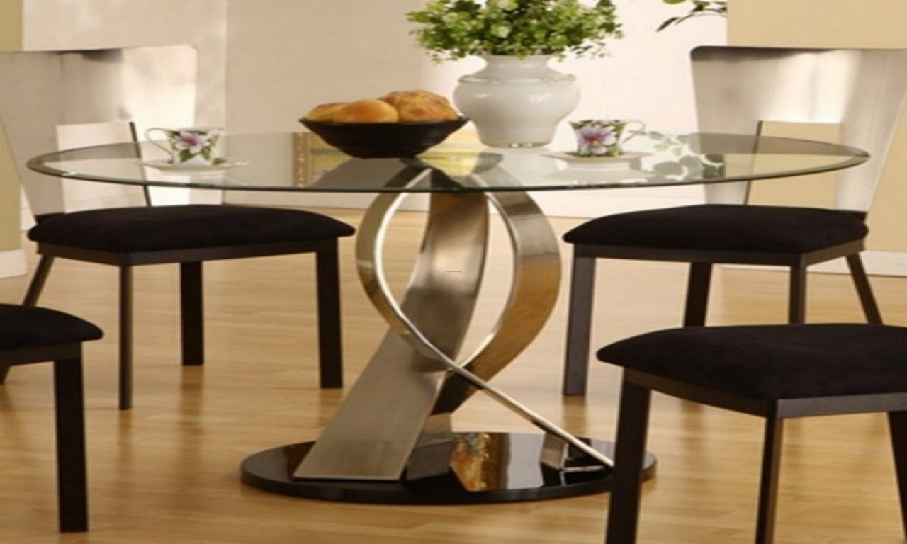 ... Ideas Round Dining Room Table With Leaf Part 96