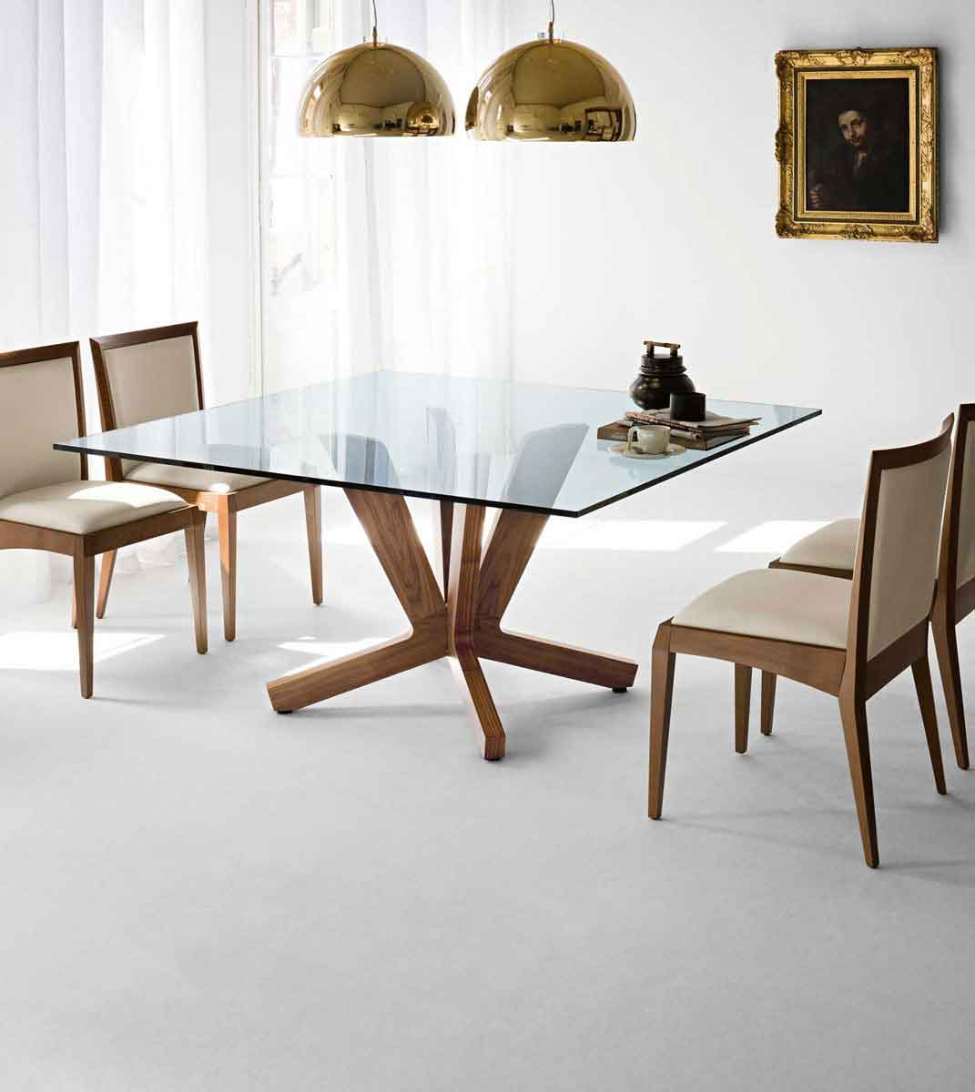 Make The Dining Table Through Designer Square Easy To Room Table