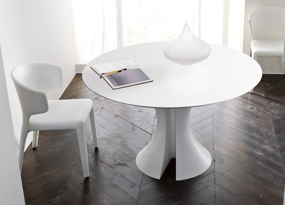 30 eyecatching round dining room tables design ideas for for White round dining room table