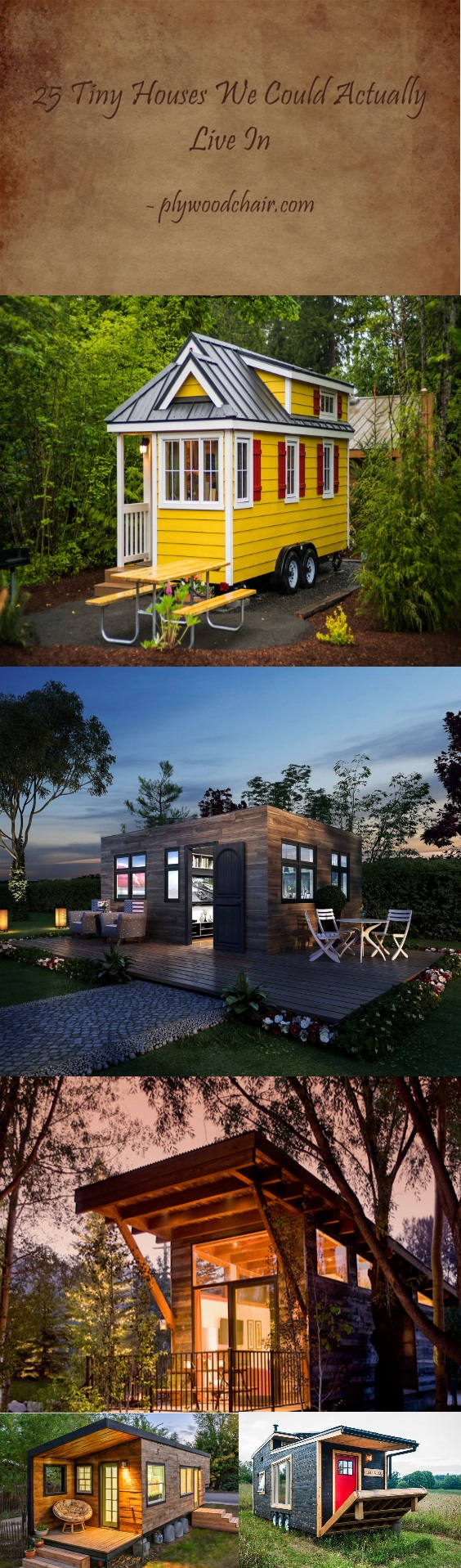 : 25 beautiful tiny house for small l living
