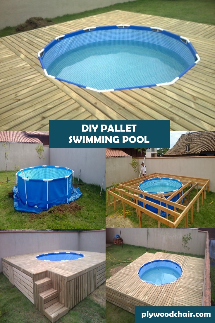 Diy Outdoor Pallet Swimming Pool