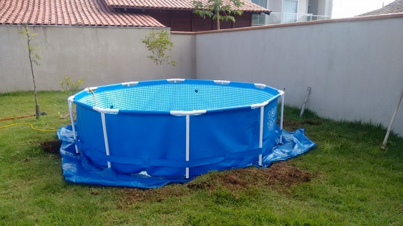 Diy swimming pool ideas from plastic pool