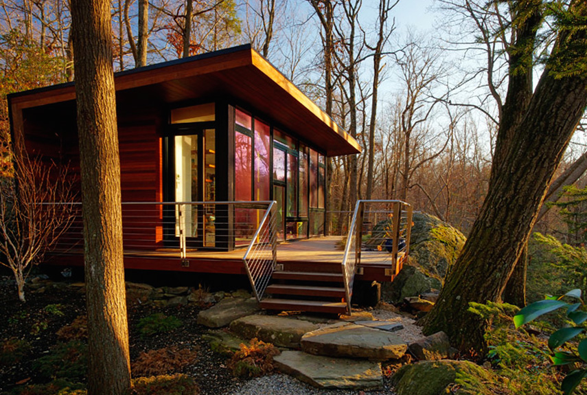 Mid Century Retreat Tiny House Design