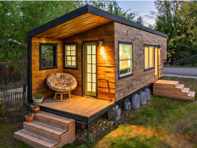 Minimalist Tiny House Design