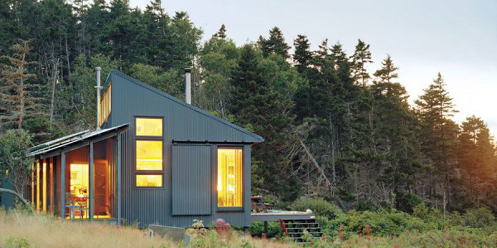 : Solar Panel Tiny House Design Ideas