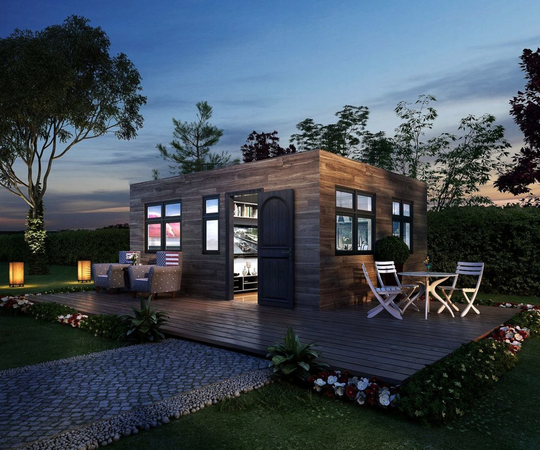 : Two 20ft Unit Container Home