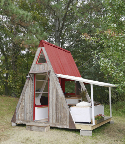 : Ultra Tiny House Design Ideas For Small Cost
