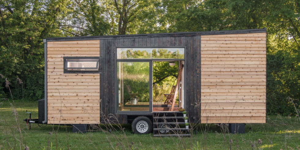 : Wood Tiny House Plans On Wheels