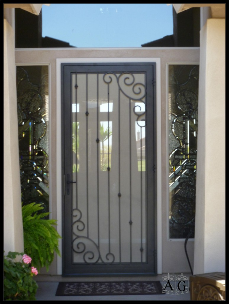 Wrought Iron Security Doors Best Screen